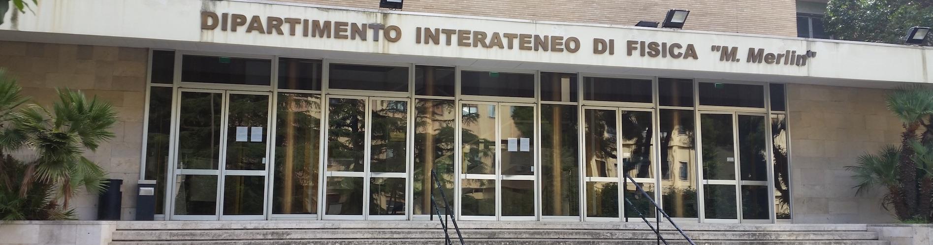 (Italiano) Dipartimento Interateneo di Fisica