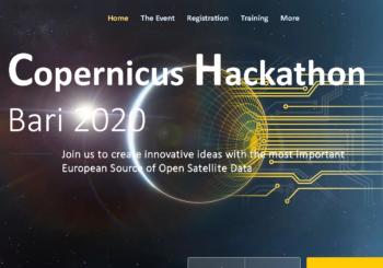 Copernicus Hackathon 2020 approda a Bari
