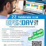 OpenDay2021 - Offerta formativa della Scuola
